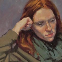 'Alla prima' portrait 2 – Tony Robinson