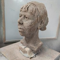 Modelling the Head in Clay – James Horan